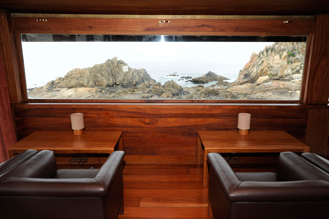 Casa de Chá da Boa Nova - interior