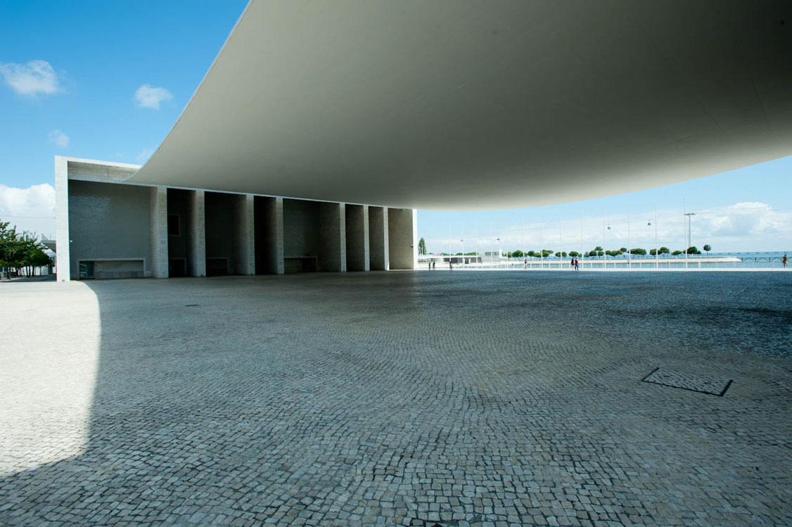Pavilhão de Portugal - pormenor da pala