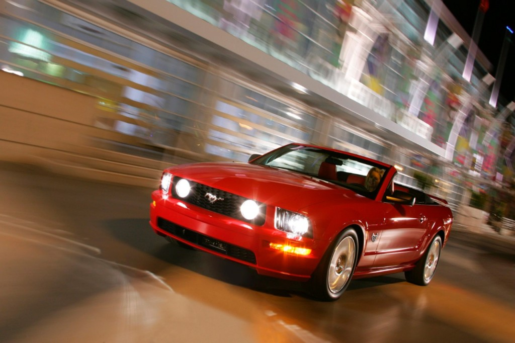 Ford Mustang Convertible de 2009