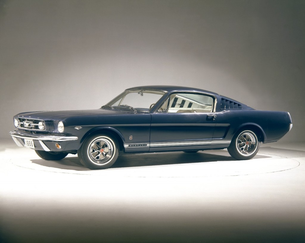 Ford Mustang GT fastback de 1966