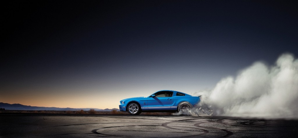 FORD SHELBY GT500 de 2012