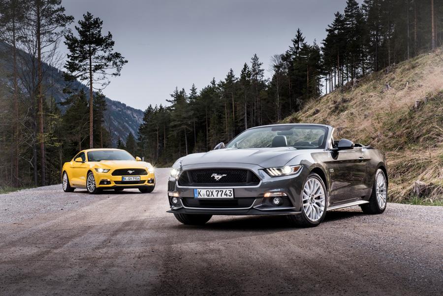 Modelos Ford Mustang de 2015