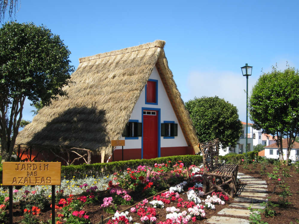 Casas de Santana - Foto: VisitMadeira