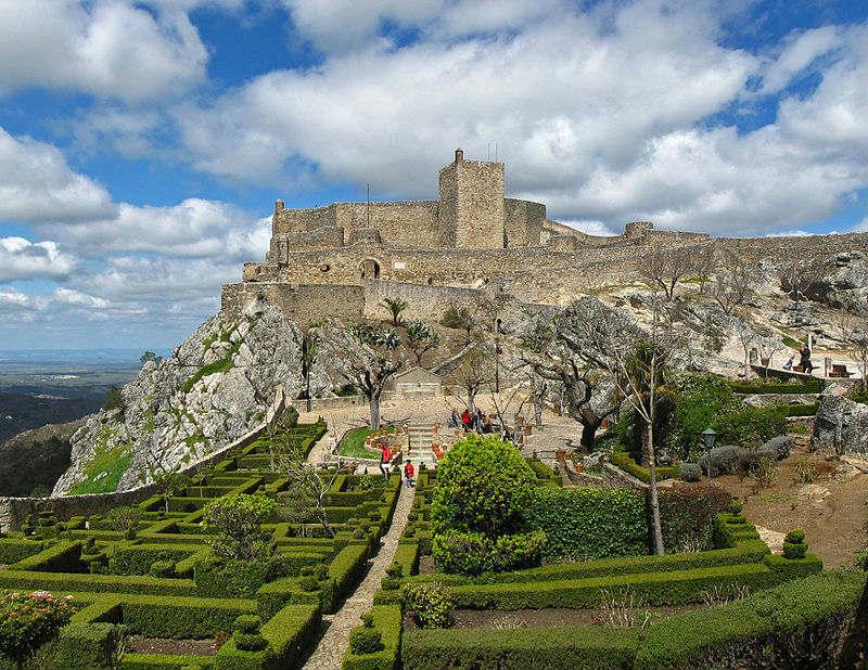 Castelo de Marvão - Foto: Wikimedia Commons