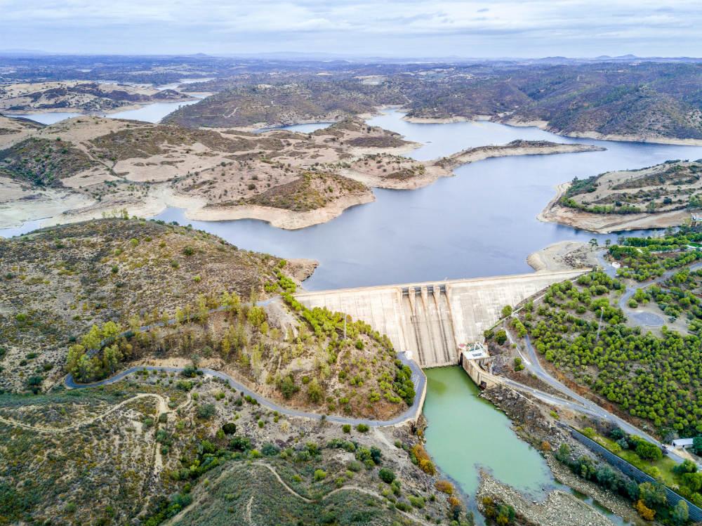 Barragem do Alqueva. Foto: iStock