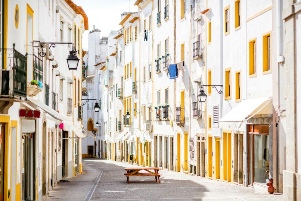 Rua de Évora. Foto: iStock